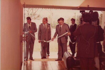 """Inauguración LRA 19 Radio Nacional Iguazú - Archivo DMPHC - Fondo Carlos """"Cacho"""" Viera"""