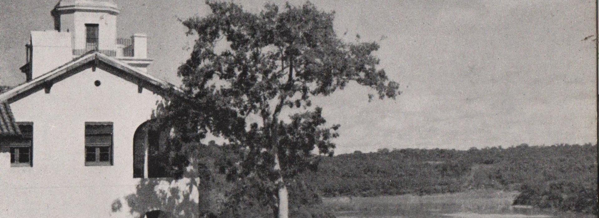parque foto de publicidad1950